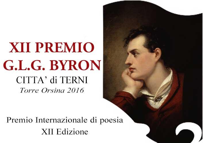 premio concorso di poesia byron 2016 terni