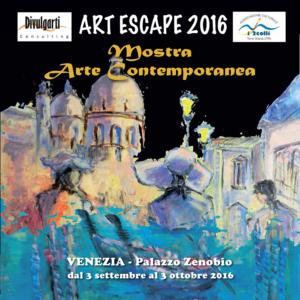 venezia palazzo zenobio art escape 2016 catalogo