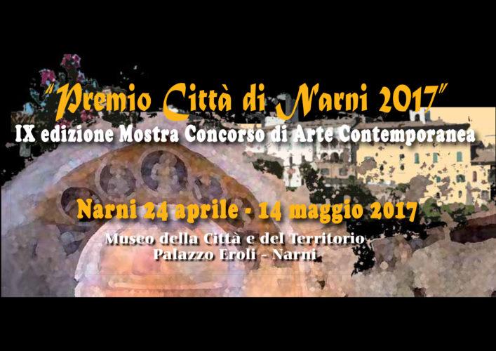 Premio citt di narni bando 2017 concorsi di poesia e for Mostre pittura 2017